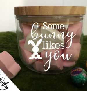 "Easter Lolly Jar Gift DECAL ONLY You Are Egg Ceptional  3/""x3/"" 7cmx7cm"